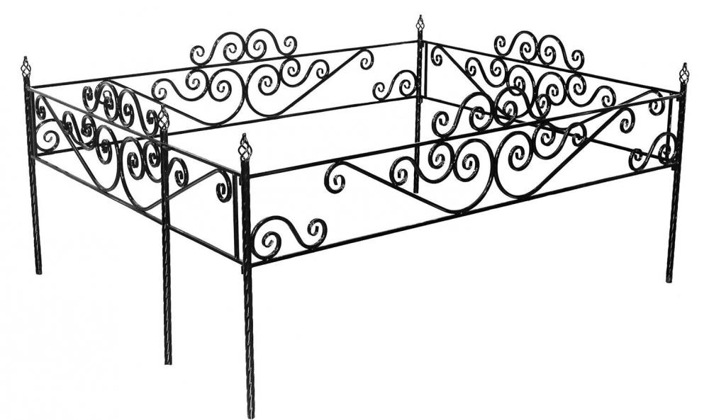 Установка оградки